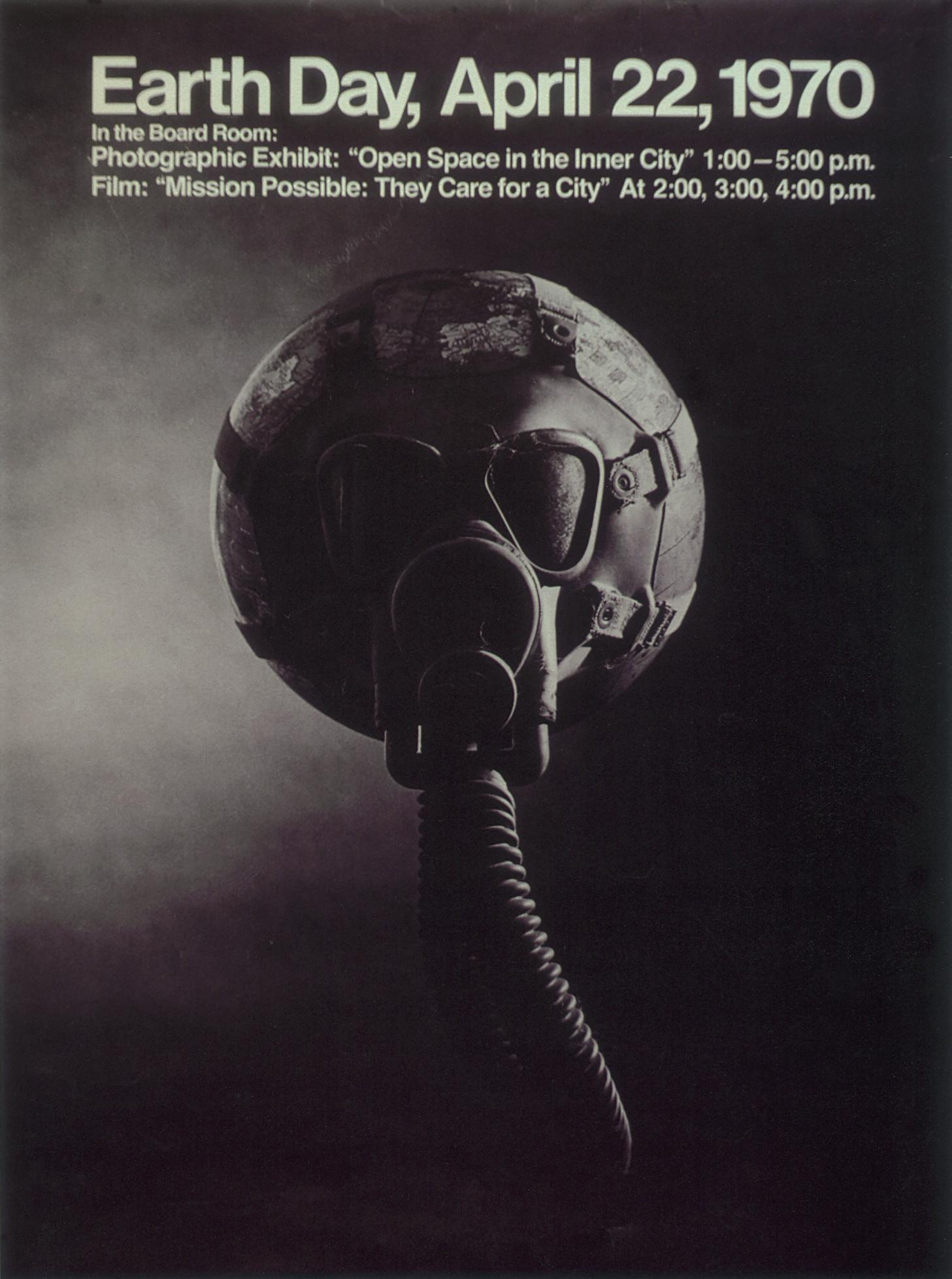 Vintage Poster  U2013 Earth Day  April 22  1970