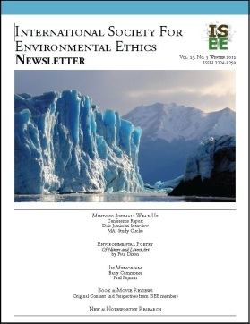 """animal liberation is an environmental ethic by dale jamieson Environmental ethics and their implications for public policy formulation in  """" images of nature,"""" in lori gruen and dale jamieson, eds, reflecting on nature:   tom regan, """"the case for animal rights"""", reprinted in thomas a mappes  and."""