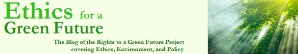 Ethics for a Green Future