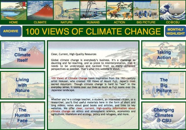 100 views of climate change