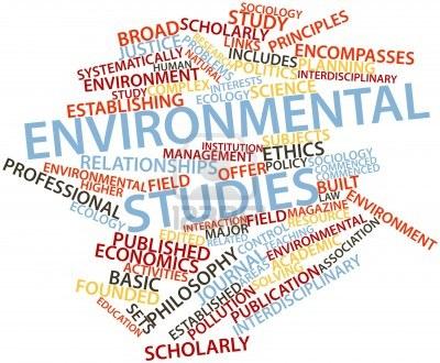 Environmental Studies Word Cloud