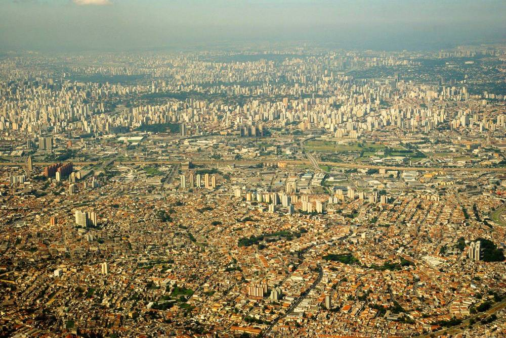 The financial and industrial capital of South America, Sao Paulo